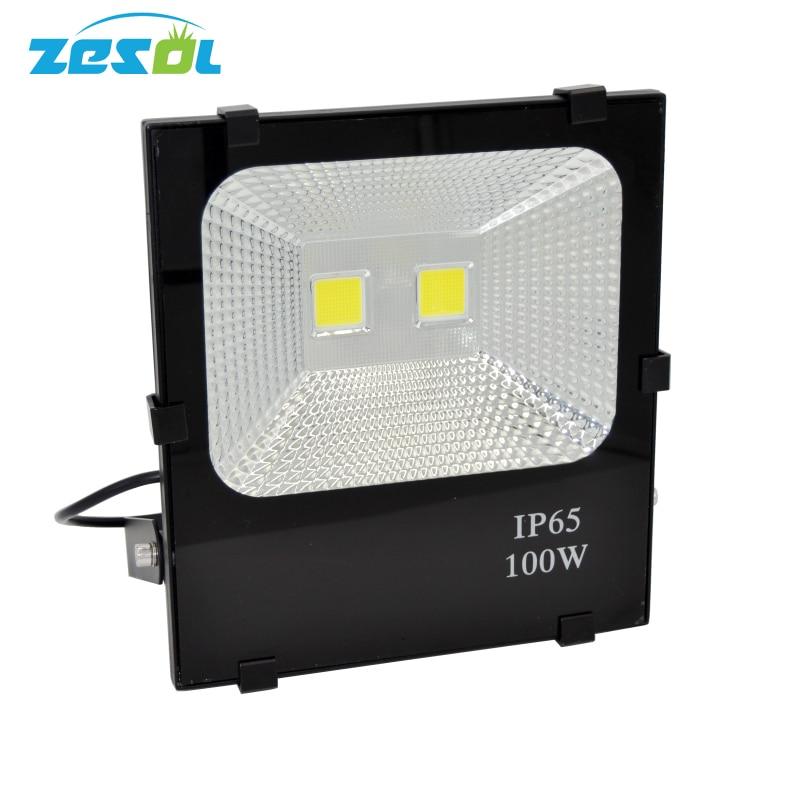 ZESOL 100w ledet udendørs oversvømmelse lys landskabspleje reflektor led lys uden belysning diy væg sconce lys