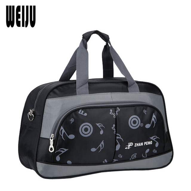 New Men Travel Bags 2016 Brand Casual Portable Women Travel Bag Duffle Bag travel Men Print Weekend bag