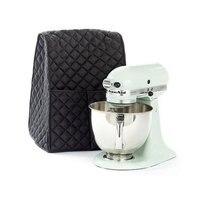 Suporte misturador à prova de poeira capa com organizador saco para casa cozinha misturador de ajuda capa preta Capas p/ forno de microondas     -