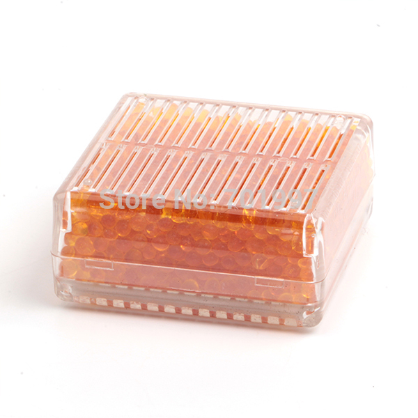 Silica Gel Desiccant Moisture Orange Indicating work For Absorb Box Reusable