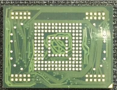 1pair/lot 1pcs MMC memory flash NAND with firmware for Samsung Tab P7500 16GB +1pcs BGA reballing reball stencil