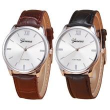 Relogio masculino relógios de Pulso New Casual Esporte Militar Relógio de Pulso Dos Homens de Negócios de Luxo de Couro Relógio de Quartzo Relógios Masculino #77