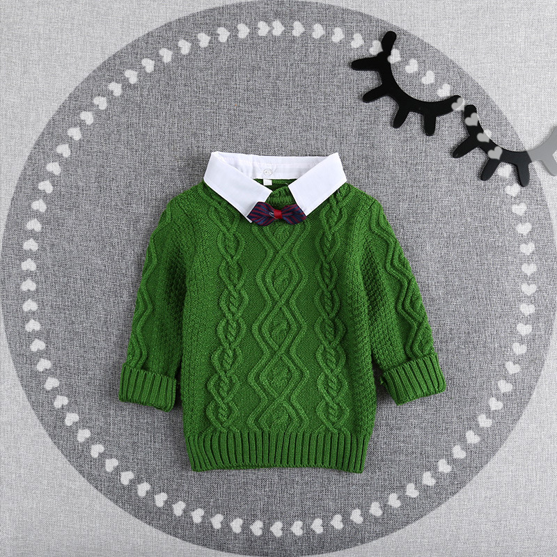 Hot Winter Children Clothing Unisex Kids Fashion Thick Knitted ...