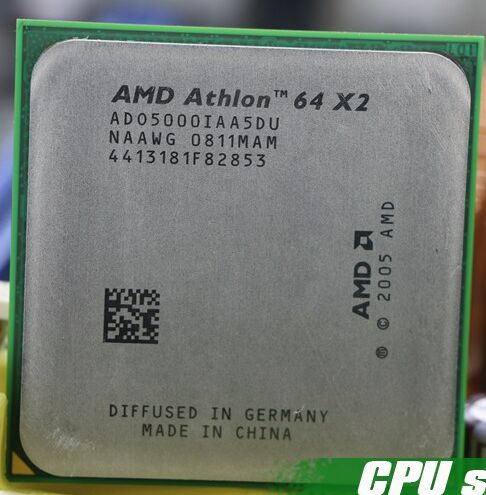 AMD CPU Athlon 64X2 5000 + 2.6 GHz AM2 940pin Dual-Core Processeur de bureau cpu dispersés pièce