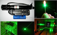 High Power Military Green Laser Pointer 30w 300000M 532nm Flashlight Adjustable Burning Match Burn cigarettes+charger+Gift Box