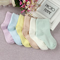 2016 Free Shipping Summer Baby Socks Cotton Sport Mesh Plain Candy Color meias Kids School Socks Children Boys Girls Brand 0-6Y