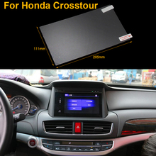 Car Styling 9 Inch GPS Navigation Screen Steel Protective Film For Honda Crosstour Control of LCD Screen Car Sticker