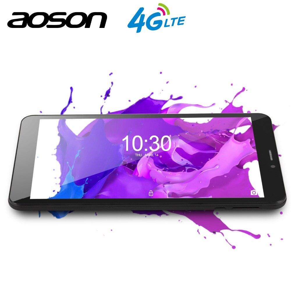 AOSON 8 pouce S8PRO Android 6.0 Quad-Core 4g tablette pc phablet carte téléphone portable avec double caméra 4200 mah Pâte livraison gratuite