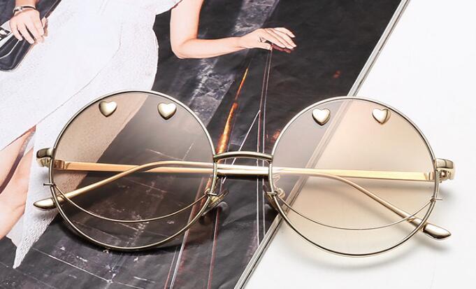 Половина солнцезащитные очки большая коробка круглое лицо Женская Мода XMX1-XMX6