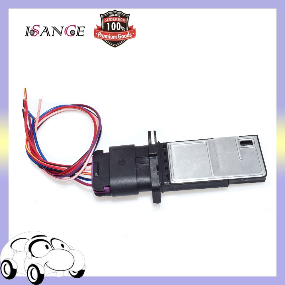 Isance Mass Air Flow Sensor Maf Wiring Harness 15865791 213 4222 Saturn Cooling Fan Relay For Chevrolet Buick Cadillac Chevy Gmc In Meter From