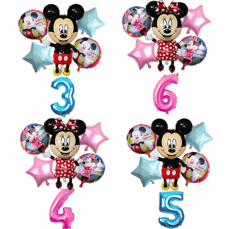 6 pcs 112 cm Mickey Minnie