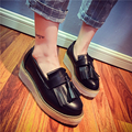 2017 NEW! women's Genuine Leather Flats Fashion Glitter Leather espadrilles women casual shoes