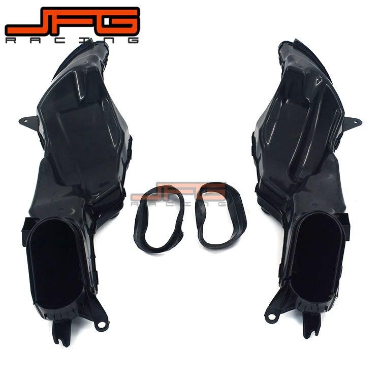 Motorcycle Ram Air Intake Tube Duct Pipe For SUZUKI GSXR1000 GSX1000R GSXR 1000 2009 2010 2011 2012 2013 2014 2015 09-15