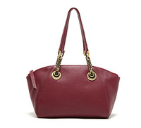 Quality First Layer Of Cowhide Brief Formal Shell Chain Women S Handbag Genuine Leather Women Totes
