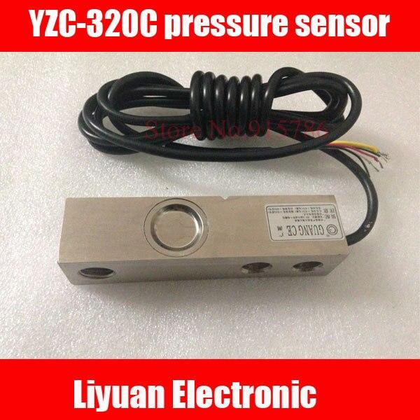Sensor de presión de YZC 320C, celda de carga electrónica, celda de carga de gran alcance, 500kg, 1T, 2T, 3T