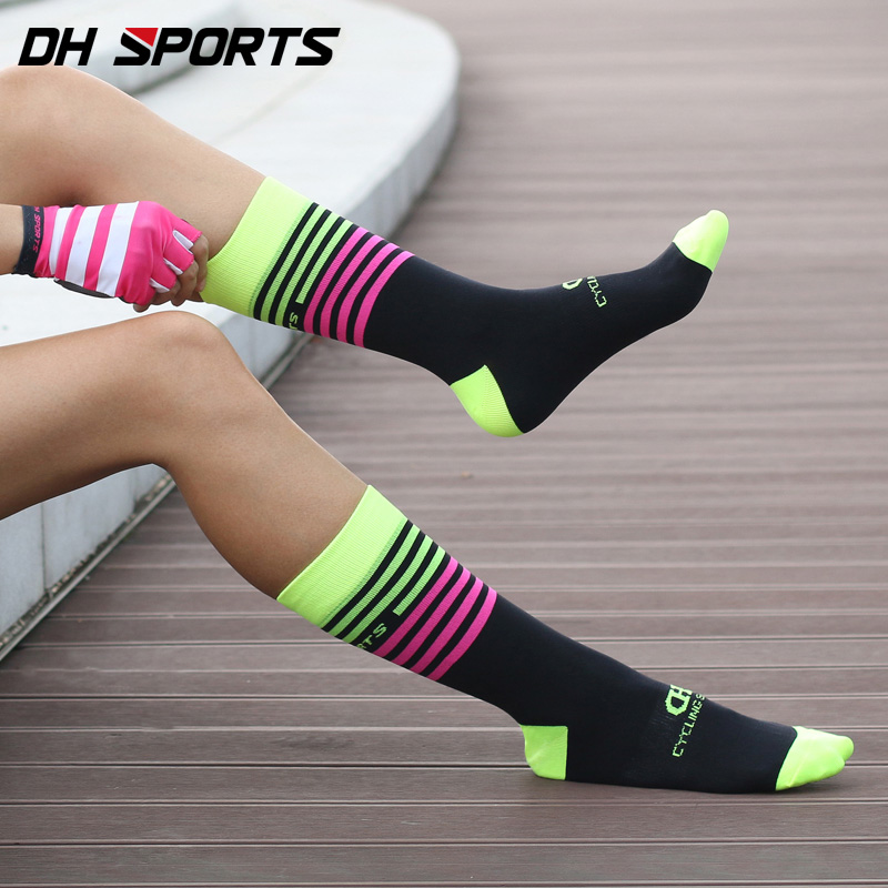 Fashion Cycling Sports Breathable Deodorant Bicycle Sock Outdoor Running Socks