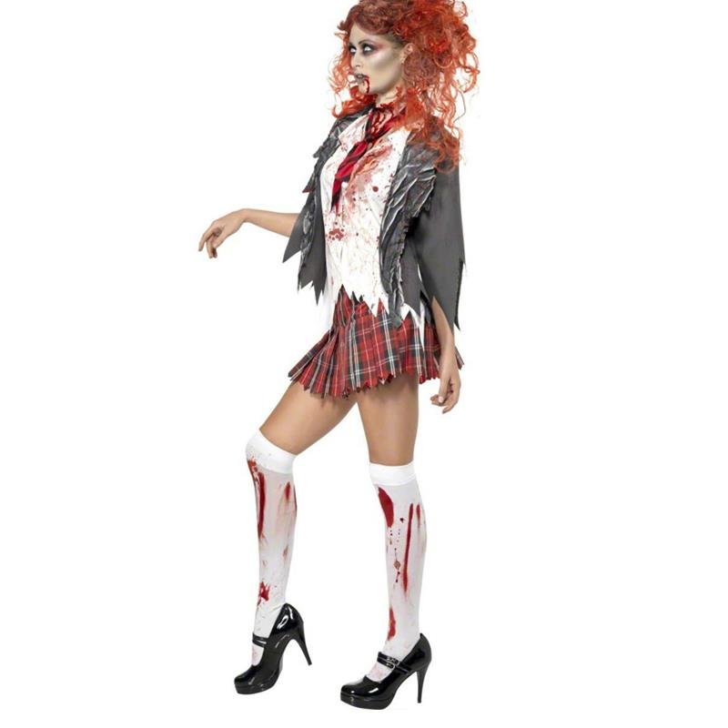 2017 High School Horror Zombie Girl Costume And Mummy Costumes Female Ghost Vampir Masquerade Death Witch Costume For Halloween Costume Material Costume Kingcostume Banana Aliexpress