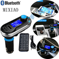 Bluetooth handsfree kit  FM Transmitter receiver  mp3 player BT66  Dual USB LCD Display  Car Kit Handsfree Car charger