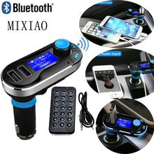 Car-styling  bluetooth handsfree kit  FM Transmitter car charger receiver 3.5mm mp3 player   Car Accessories