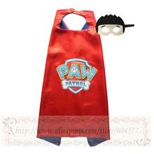 PAW-Capa y Máscara Set Costume Patrulla kids birthday party favor