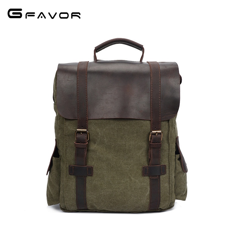 2018 New fashion Backpack Men Canvas Backpack Large Capacity Bag for Travel Backpack Shoulder School Bag men backpack vintage new fashion simple style students canvas shoulder bag large capacity backpack change pouch four sets for girls boys