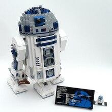 Lepin 05043 R2-D2 ladrillos de construcción bloques Juguetes para niños niños Juego Arma Compatible con Decool 10225