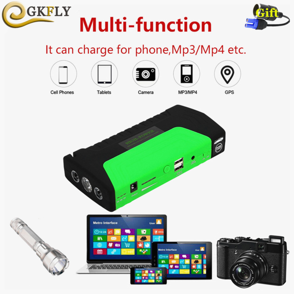 2019 Car Jump Starter Portable Starting Device Power Bank 12V 600A Evolve Car Charger For Battery Booster Petrol Diesel Buster