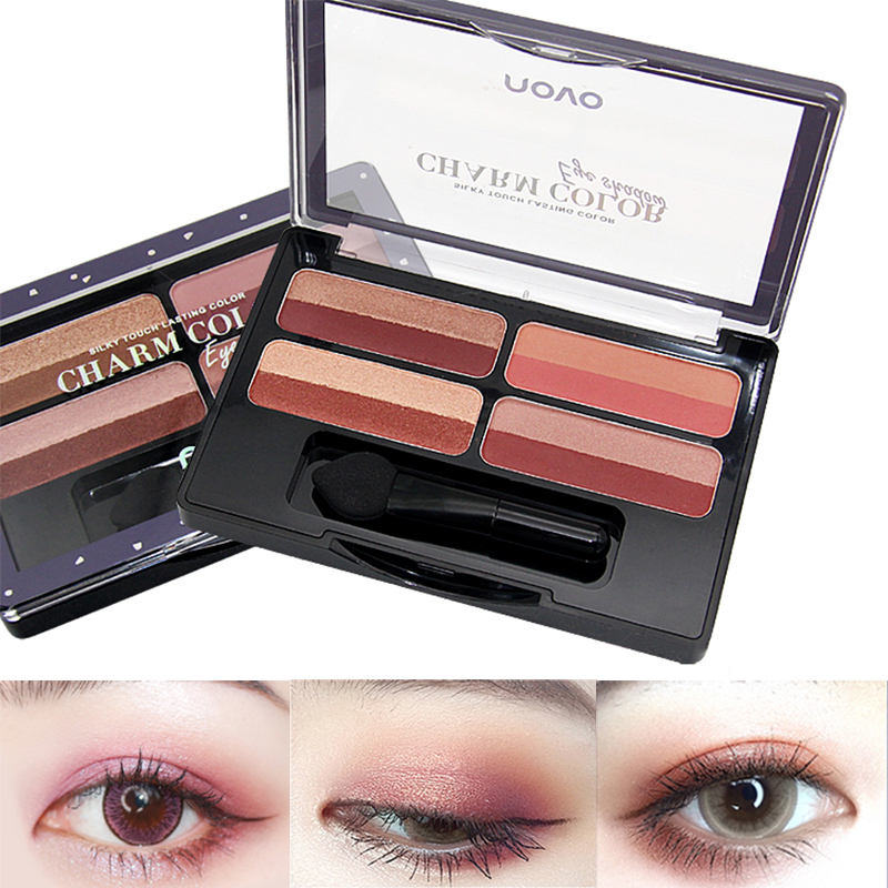 Lameila 16 Colors Natural Makeup Eye Shadow Pearlescent Matte Earth Tone Makeupbrighten Skin Colour Dress Up Your Beauty Beauty Essentials