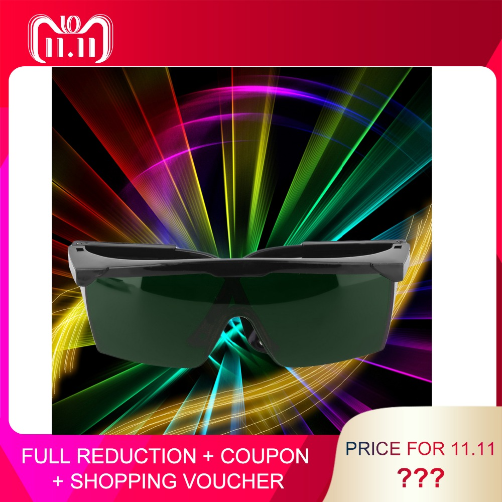 Protection Goggles Laser Safety Glasses Green Blue Red Eye Spectacles Protective Eyewear Green Color 1pcs protection goggles laser safety glasses green blue red eye spectacles protective eyewear green color laser protection blue