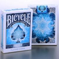 Xe đạp Frost Thẻ Chơi 88*63 mét Giấy Màu Xanh Thẻ Ma Thuật Poker Thẻ Ma Thuật Lừa