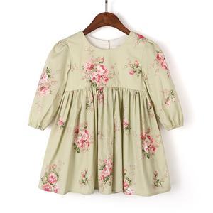 Image 3 - ملابس أطفال مريحة للخريف والشتاء برقبة مستديرة من Flofallzique فستان أطفال بنات أكمام طويلة للخريف