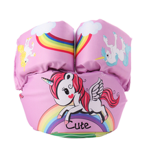 1-7Year Old Inflatable Child Swim Vest Cartoon Life Vest Jackets Kids Swimming Pool Float Ring Swim Arm Ring Safety Training Toy цена 2017