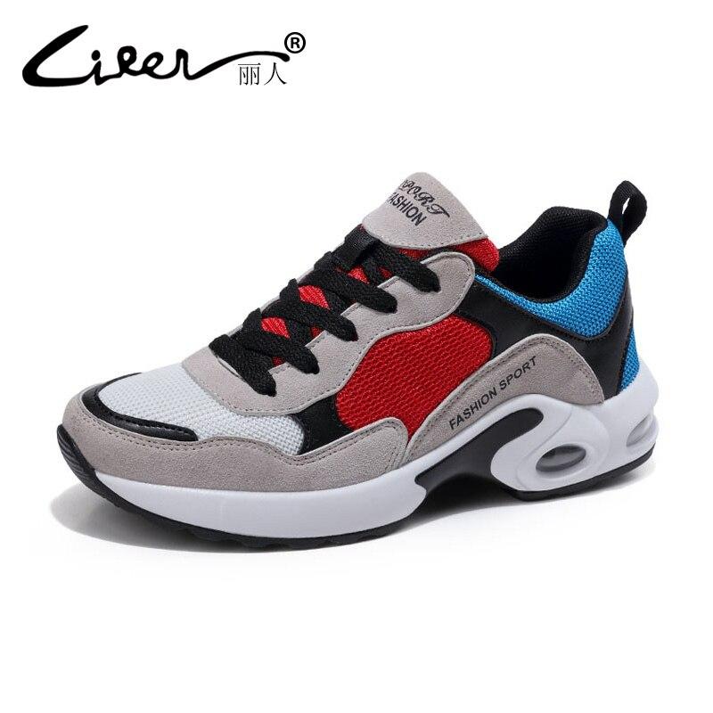 Fashion Sneakers Air Mesh Woman Shoes 2018 Spring Tenis Feminino Casual Shoes Outdoor Walking Shoes Women Lace-up Ladies Shoe