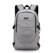 Laptop Mens Business Backpack Coded lock Desgin Stundet Water Repellent For 15.6 inches