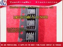 จัดส่งฟรี 10pcs SOP8 LM22675 LM22675MRX 5.0 LM22675MR 5.0 เดิมแท้และ IC ใหม่
