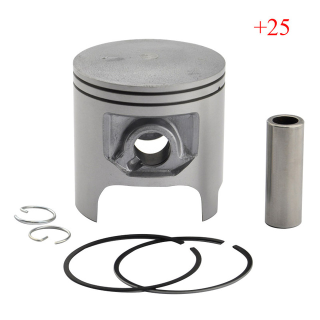 DT200 Piston & Piston Rings Kit High Performance Motorcycle Piston Set For DT 200 +25 Oversize Bore Size 66.25mm New
