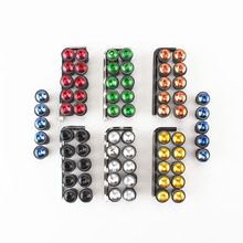 10X Motorcycle accessories 5mm Windshield Windscreen Bolt Screw Nut Fastener Kit Fairing Windshield Mounting Nuts
