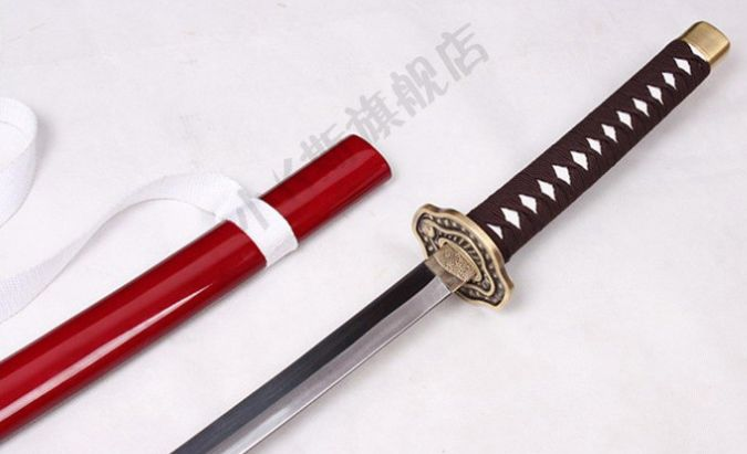 Costume Props Brave Silver Soul Gintama Hijikata Toushirou Wooden Sword Cosplay Prop Costumes & Accessories