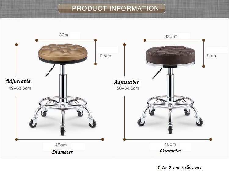 gold color public house stool lifting and rotation PU chair free shipping computer room stool unionism and public service reform in lesotho