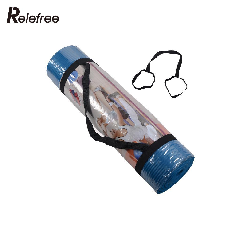 Relefree Yoga Mat Carry Strap High Quality Looped Sling
