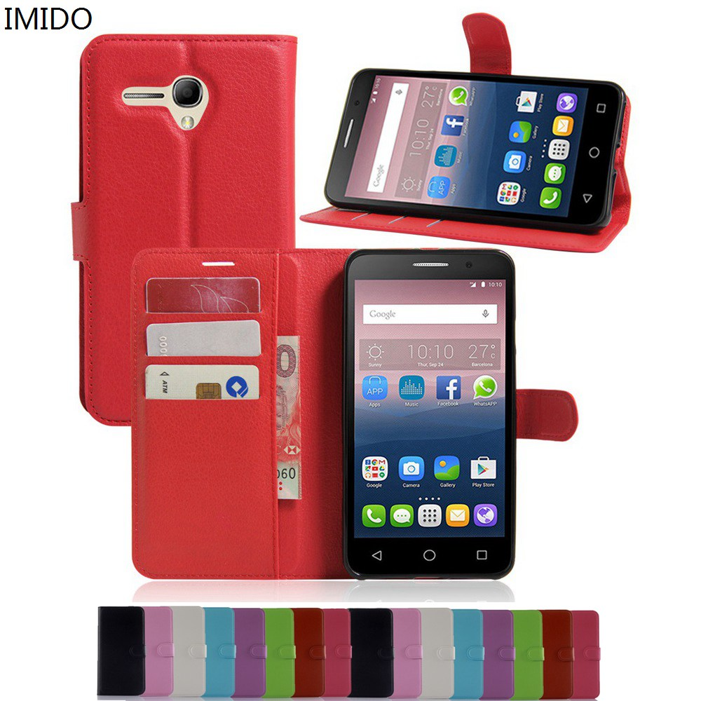 Flip Cases Honest Imido Wallet Stand Flip Cover For Alcatel Pop 3 5.5 Inch 5025d 5025e 5025g 5025n Pu Leather Magnetic With Card For Pop 3 5.5inch Cellphones & Telecommunications