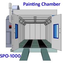 SPO-1000 автомобильной покрасочная камера для окрасочных Кабины Краски палатка для покраски