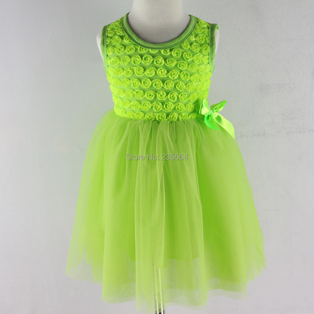 758178961 Summer chiffon cute baby dress