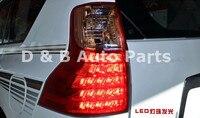 1Pair High Quality Led Rear Light Led Tail Light Led Tail Lamp for Toyota Land Cruiser Prado FJ150 2011'