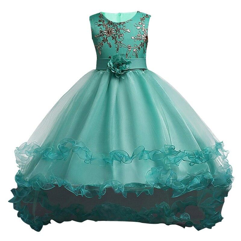 Girls Dress Summer Kids Dresses For Girls Clothes Party Princess ...