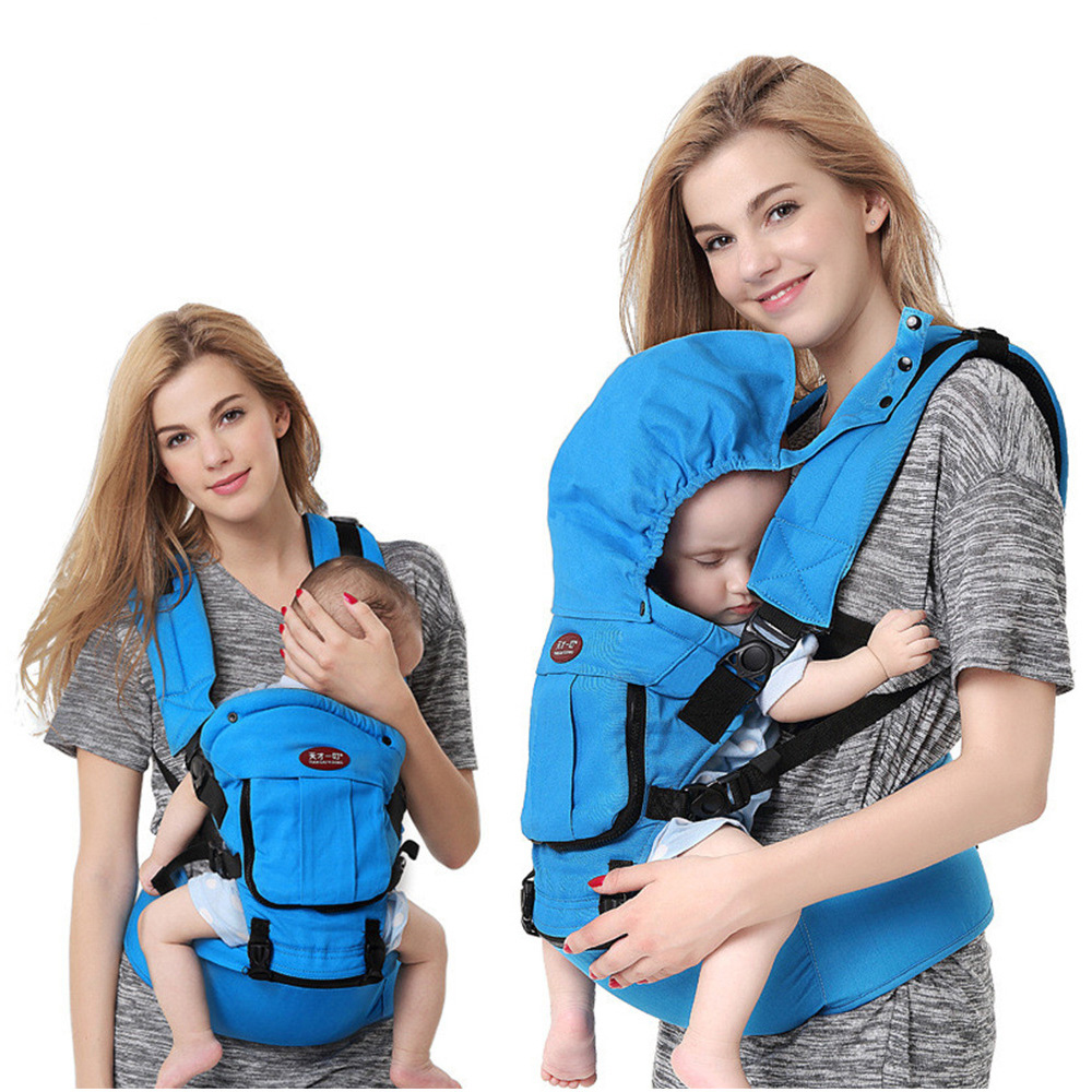 Baby-Carrier-0-36-Months-Ergonomic-Kids-Sling-Backpack-Pouch-Wrap-Front-Facing-Multifunctional-Infant--Windproof-Bag-(2)
