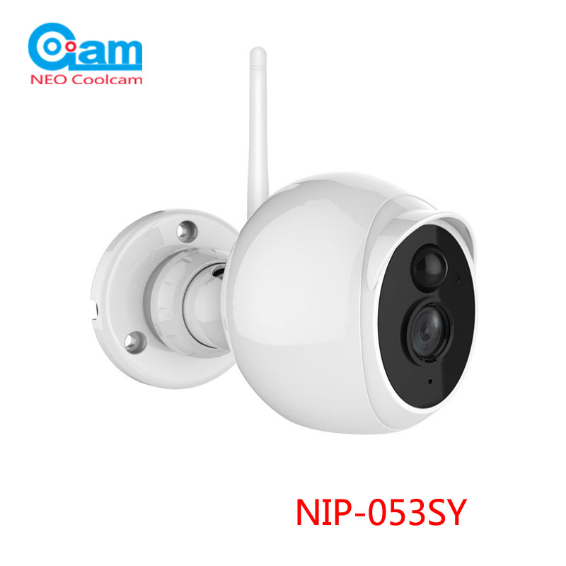 NEO Outdoor Wifi IP Camera Waterproof Full HD 1080P 2MP 3.6mm lens, Built IN PIR motion Sensor Support TF Card,sn:  NIP-53SY new display for texet tb 740 lcd replacement free shipping