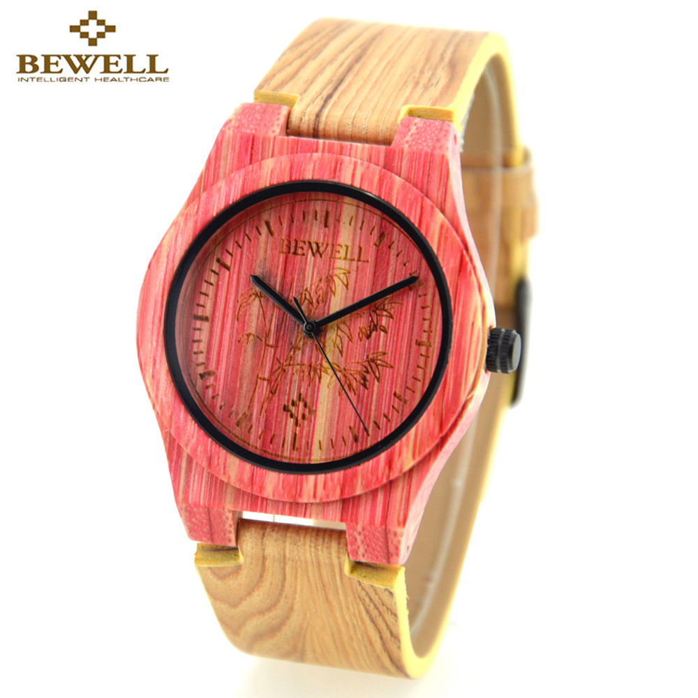 women dress ladies for bird dial product watches bamboo watch bobo crystal