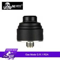 Original Gas Mods G.R.1 RDA Tank 22mm Single coil rebuildable Dual Terminal Columnless Build Deck Side Slanted Airflow Vape Tank