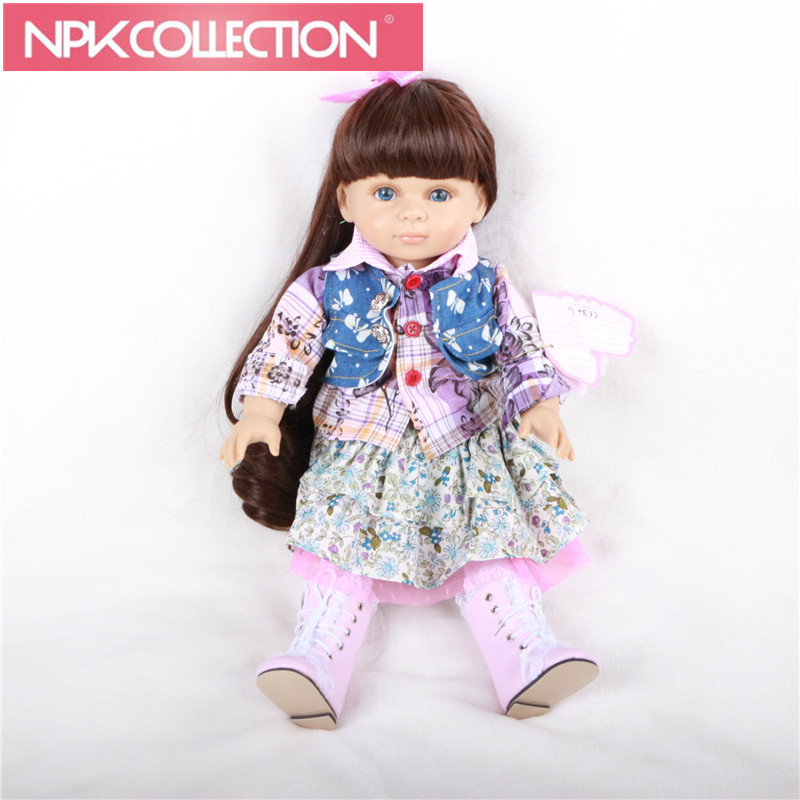 Reborn Doll Popular American Girl Doll Journey Girl Me Fashion Doll Toys For Girls Birthday Gift Reborn Baby Soft Dolls N155 [mmmaww] christmas costume clothes for 18 45cm american girl doll santa sets with hat for alexander doll baby girl gift toy